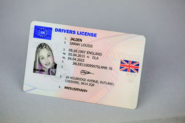 Uk Driving License Lost