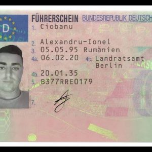 Germany Driver's License