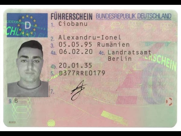 Drivers license in Germany